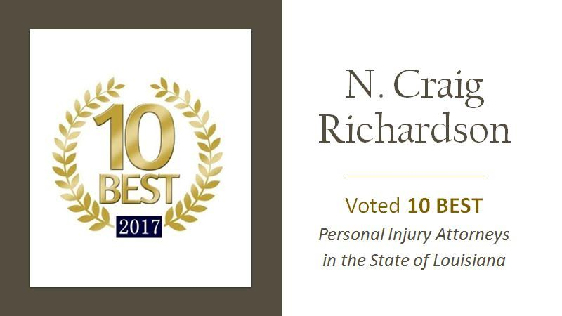 TOP 10 Personal Injury Attorneys in Louisiana